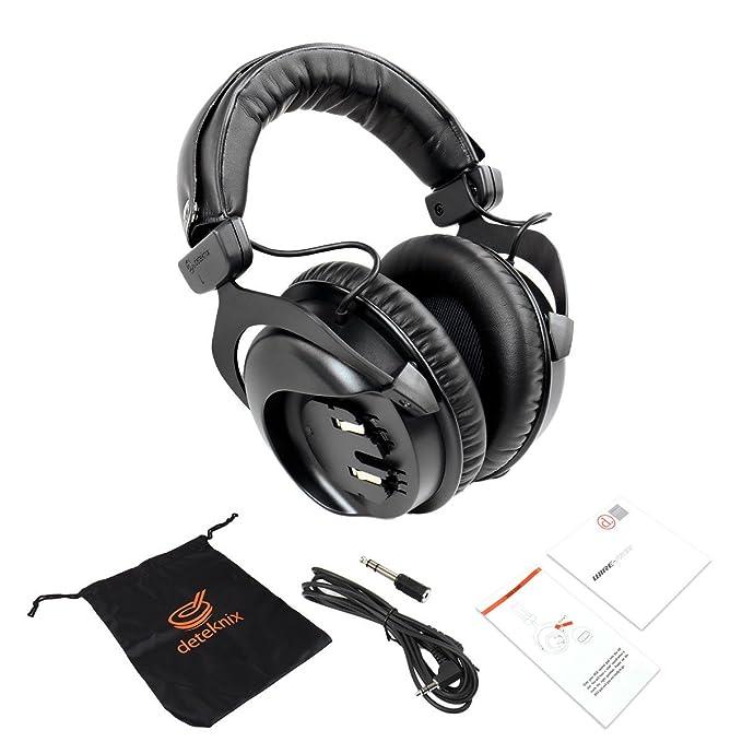 Amazon.com : Quest 1V_1702.1000 HD Headphones for XP Deus, Black : Garden & Outdoor