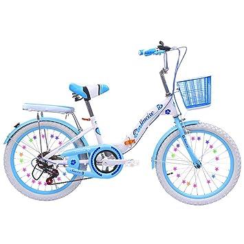 Amazon.com: Bicicleta de aluminio Grimk para niños y niñas ...