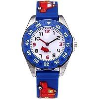 Reloj Infantil analógico niño niñas, Relojes Deportivo para niños Impermeable 3D Reloj de Juguete de Dibujos Animados…
