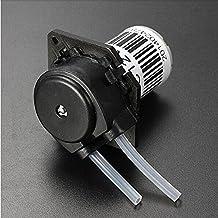 Jack-Store 12V DC Peristaltic Liquid Pump Miniature Dosing Pump Hose Pump for Aquarium Lab Analytical Water