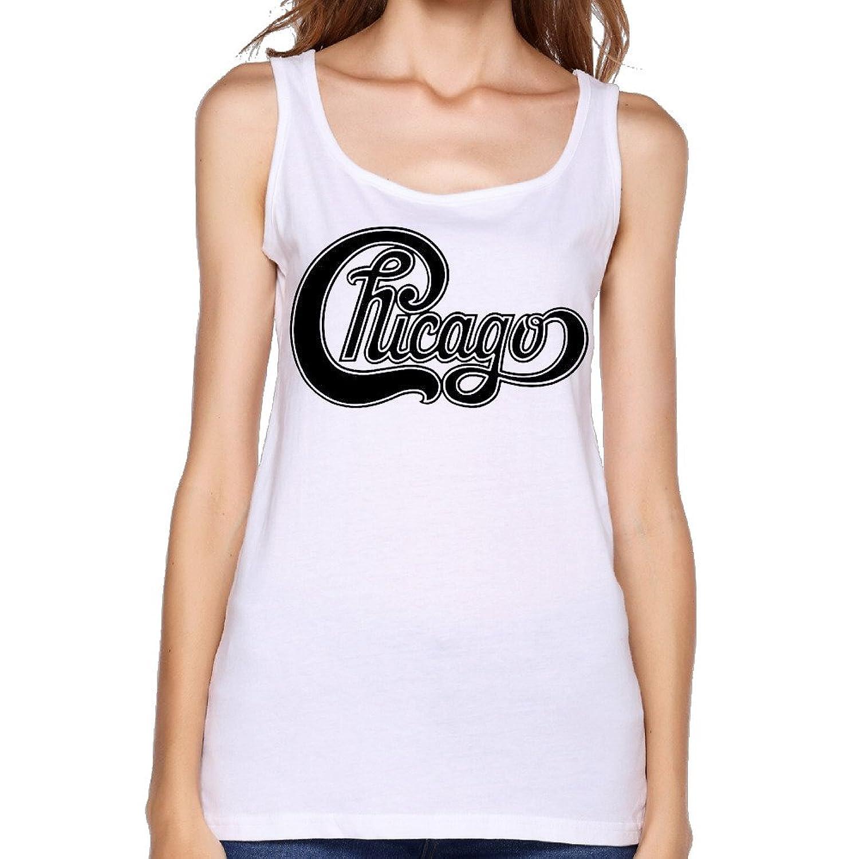 Women's Chicago Band High Res Logo Tank Top-