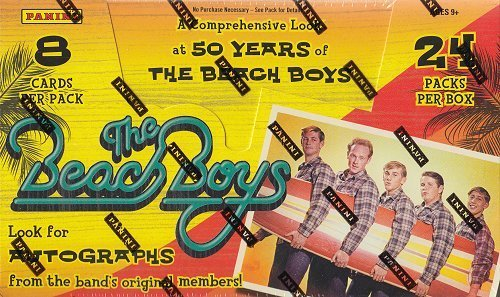 Panini 2013 The Beach Boys Hobby Box