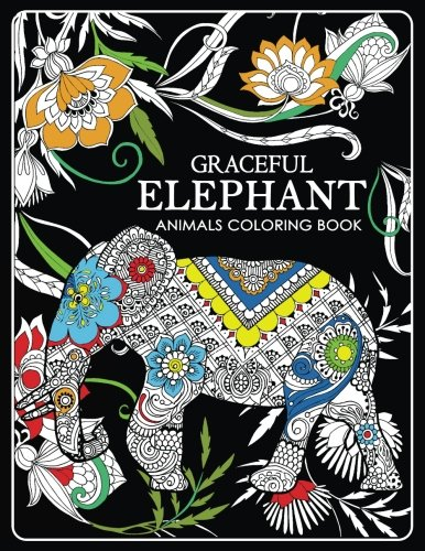 Graceful Elephant: Animals Coloring (Making A Halloween Pumpkin)