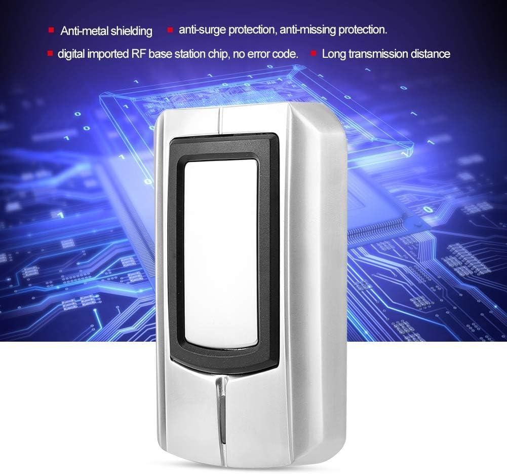 Metal RFID Card Reader Wiegand26//34 RF for Access Control Sanpyl High Sensitivity Waterproof RFID Card Reader 13.56Mhz IC
