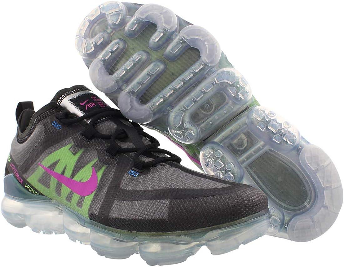 B00XLBCR74 Nike Men\'s Air Vapormax 2019 Premium Mesh, Black/Active Fuchsia, Size 10.0 61usbrIeoZL.UL1100_