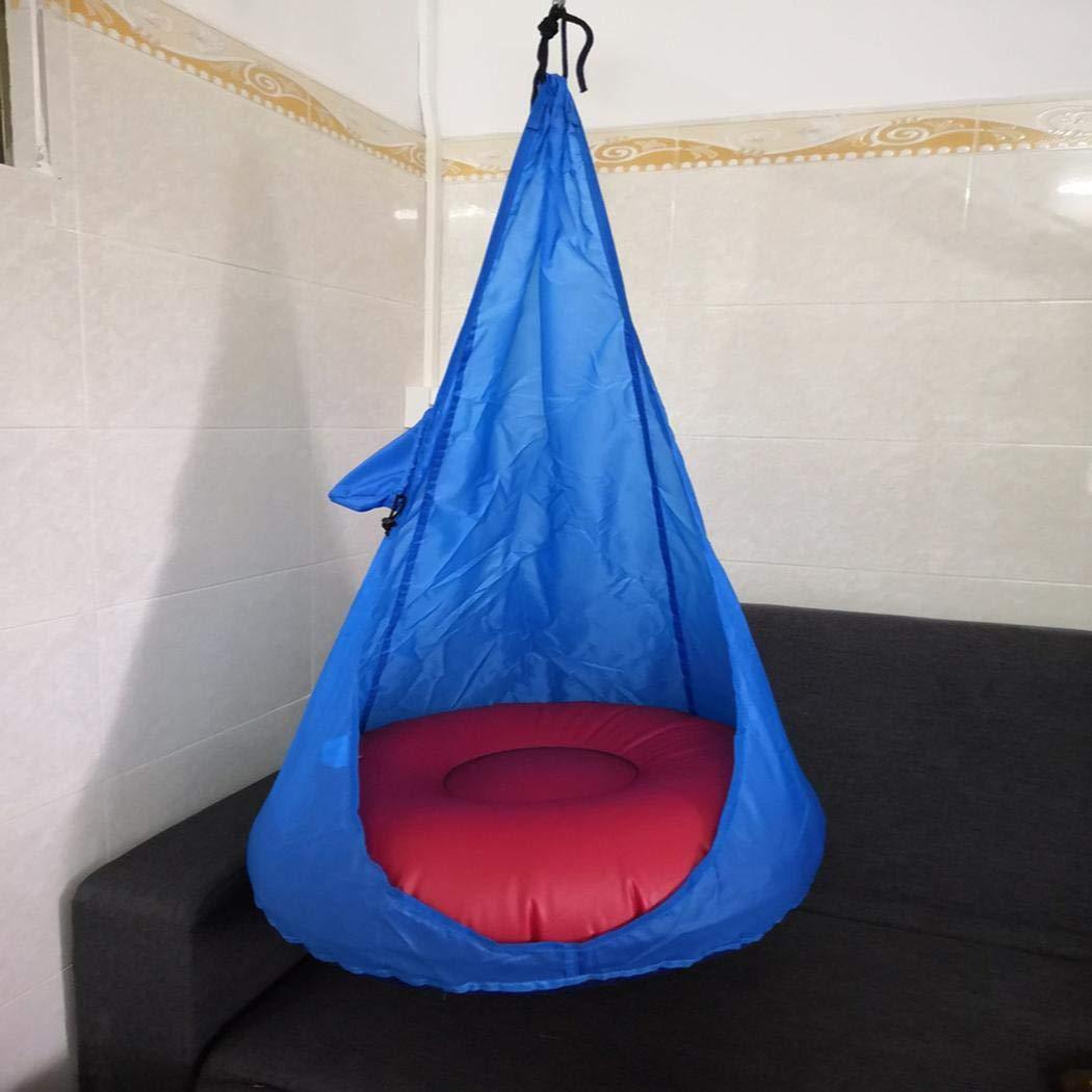 Benlet Home Child Hammock Chair Kids Swing Pod Outdoor Indoor Hanging Seat Hammocks