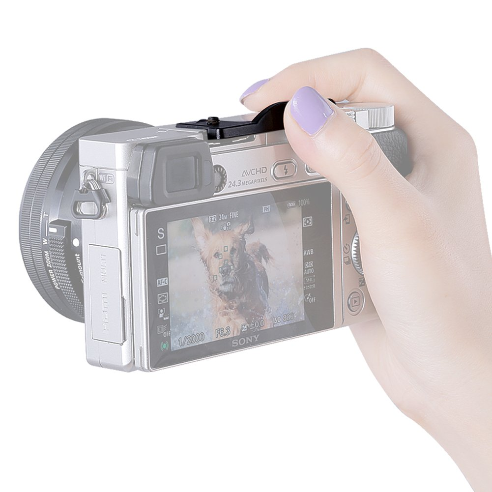 Neewer Hot Shoe TU-100B - Empuñadura para la Micro cámara réflex ...