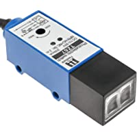 BeMatik - Sensor interruptor célula fotoeléctrica NPN NO+NC 10-30VDC 2m reflector