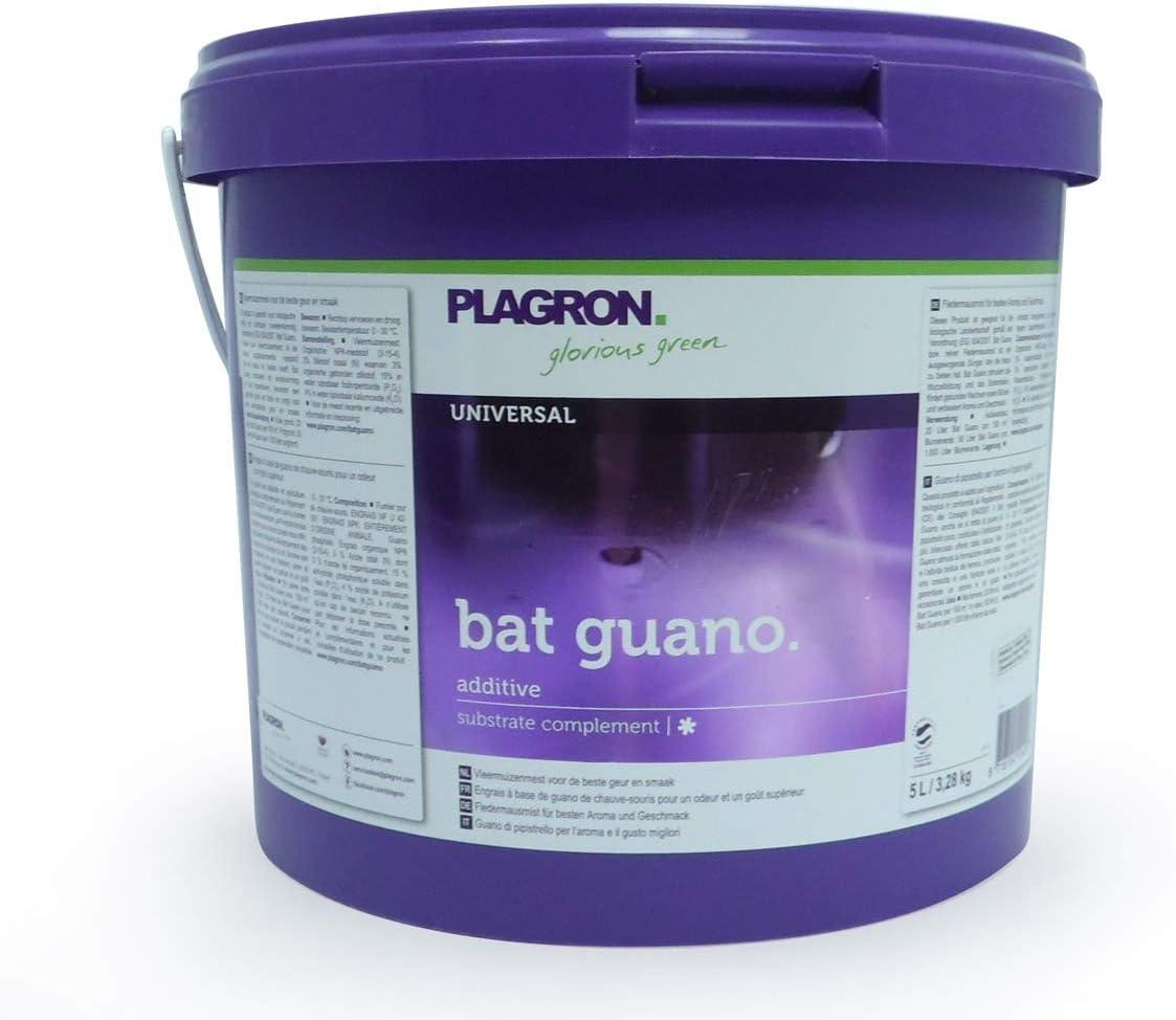 Aditivo / Complemento de sustrato para el cultivo Plagron Bat Guano (5L)