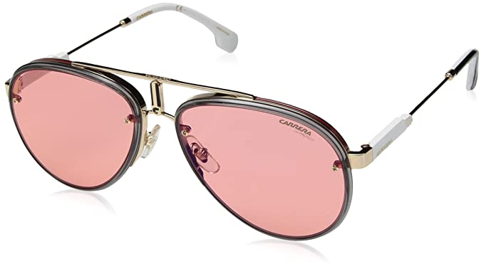 Carrera Glory Aviator - anteojos de sol, color dorado y rojo, 17 mm ... 568260206b