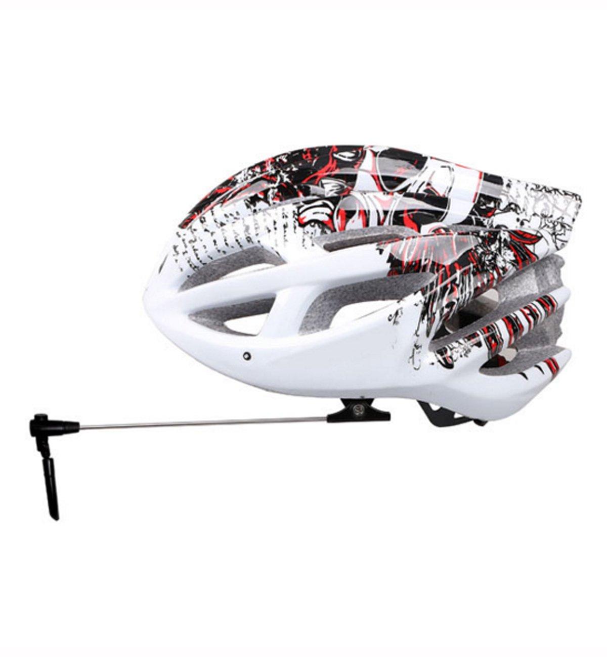 FantasyLife Bike Bicycle Helmet Mirror - Adjustable Mirror for Cycling Helmet - Bike Rear View Mirror for Helmet by FantasyLife (Image #7)