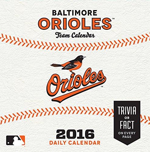 Turner Baltimore Orioles 2016 Box Calendar, January-December (Baltimore Orioles Calendars)