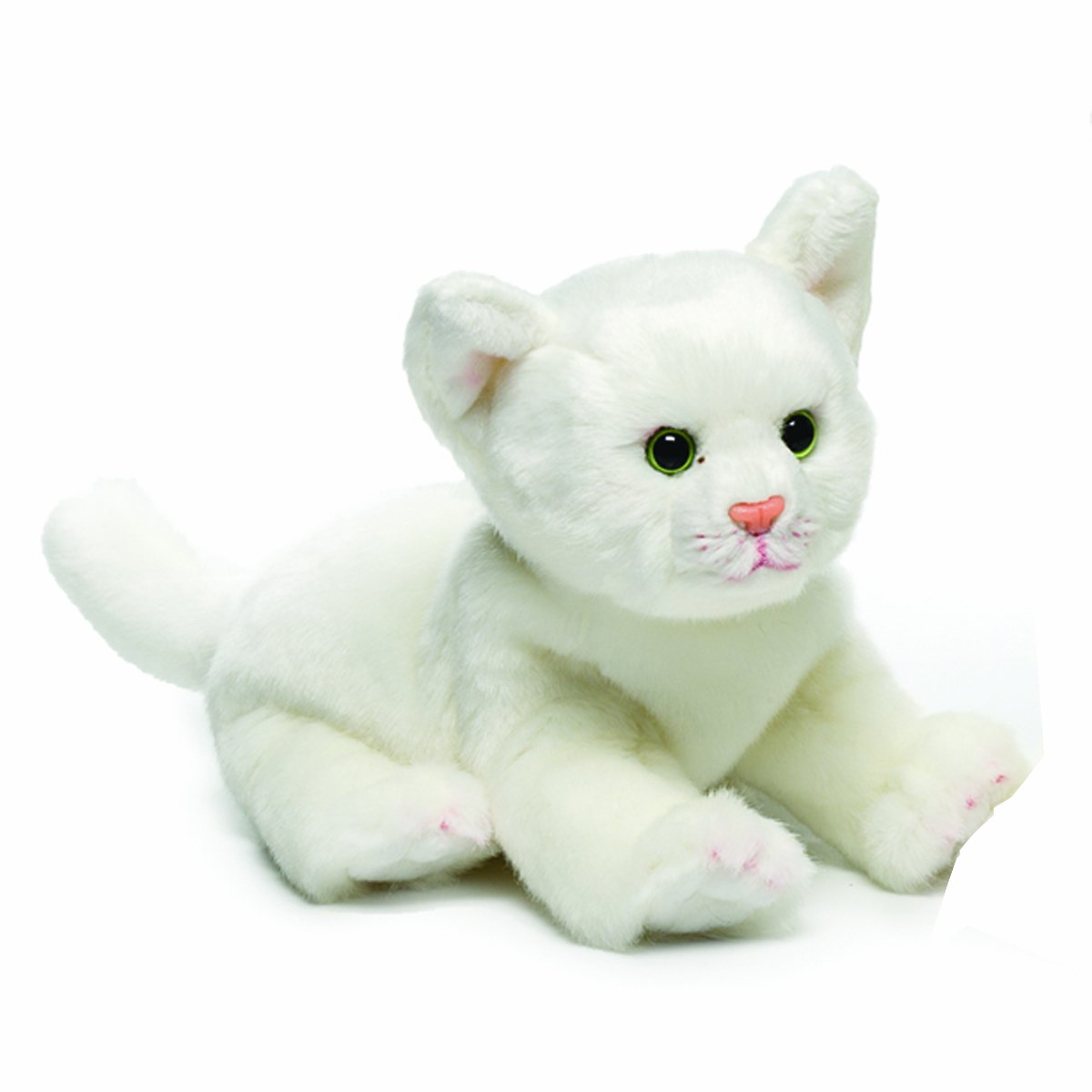 Amazon Com Nat And Jules White Cat Plush Toy Small Baby