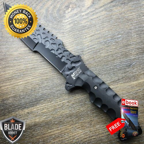 12'' M-TECH XTREME Full Tang FIXED BLADE KNIFE Machete Tactical Combat SHEATH For Hunting Tactical Camping Cosplay + eBOOK by MOON (12' Machete)