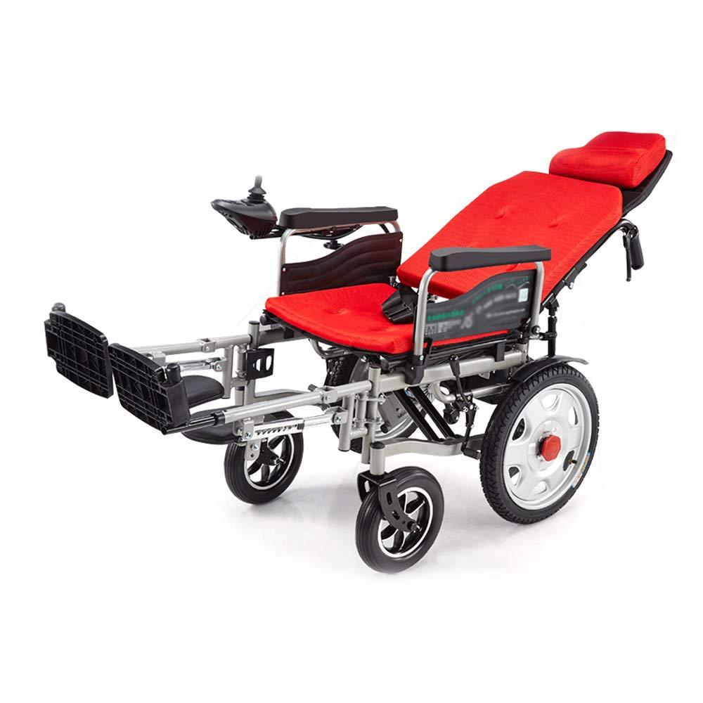Amazon.de: MEI XU Elektrischer Rollstuhl, Rollstuhl für die älteren ...