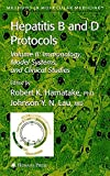 Hepatitis B and D Protocols: Volume 2: Immunology, Model Systems, and Clinical Studies (Methods in Molecular Medicine)