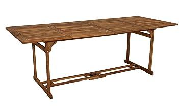 Gartentisch Esstisch Klapptisch Gartenmöbel Garnitur klappbar Akazienholz