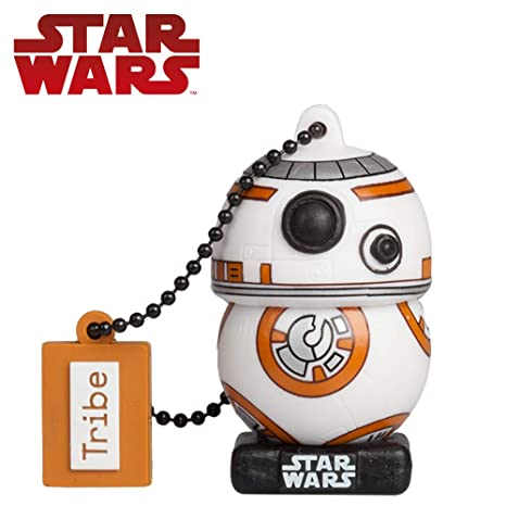 Tribe, Star Wars BB8, 32GB USB Flash Drive, 2.0 Memory Stick Keychain