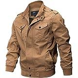 Homebaby Giacca Militare da Uomo Cardigan Cappotto con Tasca Anteriore Aperto Pullover Maglione Caldo Sportiva Manica Lunga Camicia Maglia Autunno Inverno Abbigliamento