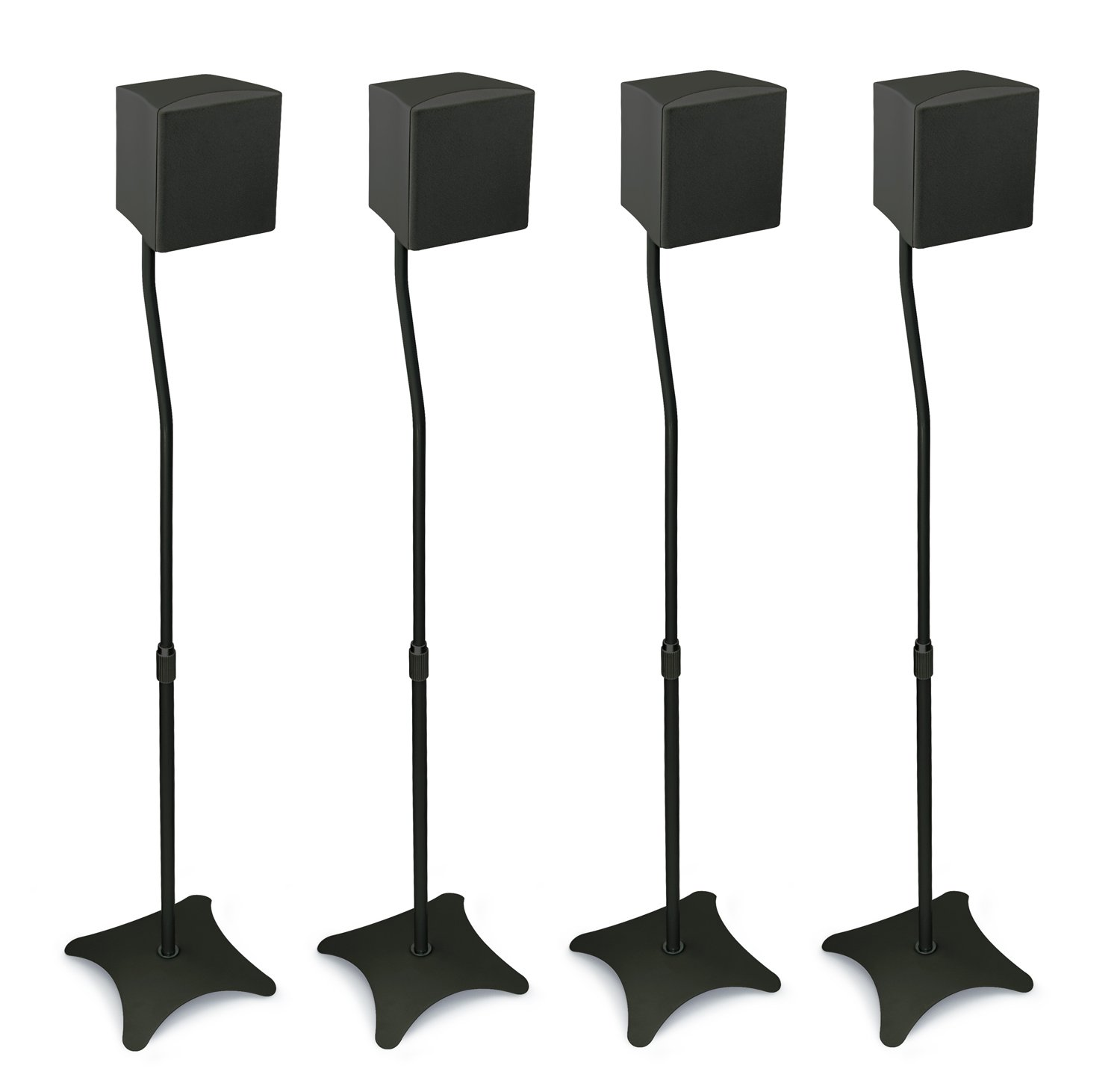Amazoncom MountIt MI1214 Speaker Stands for Home Theater 51