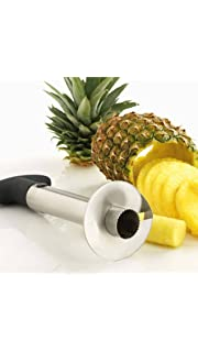 Saysha Stainless Steel Pineapple Cutter, Grater and Slicer  Multicolour