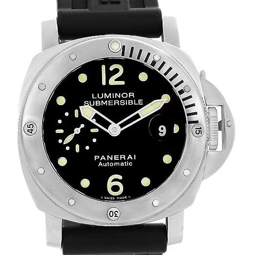 Panerai Luminor PAM00024 - Reloj automático para Hombre (con Certificado de autenticidad)