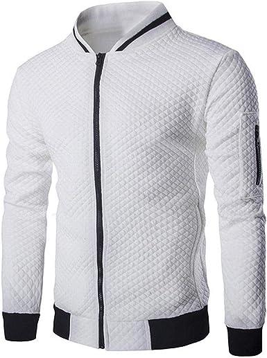 Chaqueta para Hombre Jersey Casual Camisa De Manga Larga ...