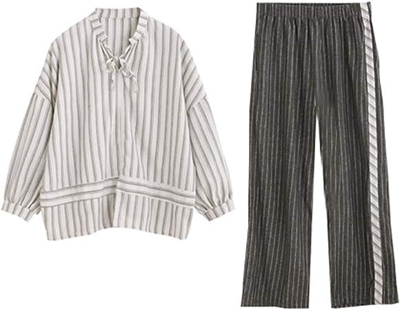 Heqianqian Pijama de Mujer Soft Salón de Fiesta Fija Pijama ...