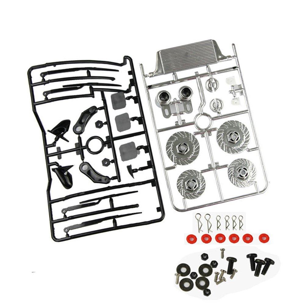Plastic Dummy Brake Disc Set 025073 For 1//10 RC Racing On Road Drift  Model Car
