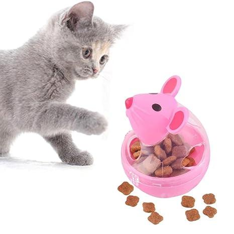 FOONEE Juguete de Pelota para Gatos, Vaso para Mascotas, Bola de Fugas, Forma
