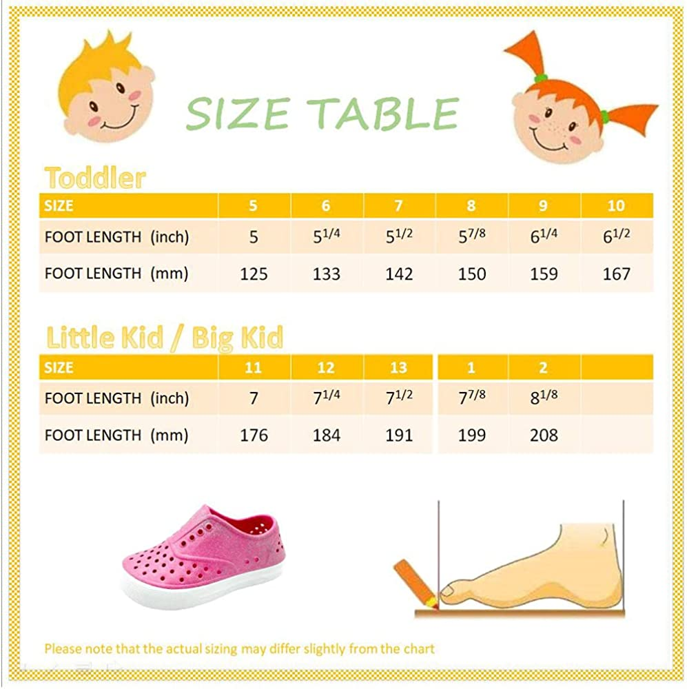 Pebbles Shoes Kids /& Toddler Girls Glitter Waterproof Breathable Slip On Snea.