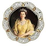 Queen Elizabeth II Diamond Jubilee Edition Collector Plate by The Bradford Exchange