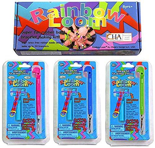 m Starter Kit & 3 Metal Hook Tool Upgrade Kits [Pink, Green & Blue] ()
