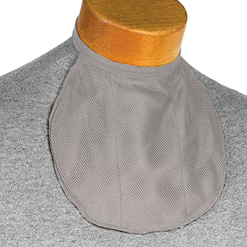 (Romet Blouse-Neck Stoma Cover (6 Colors) (Grey))