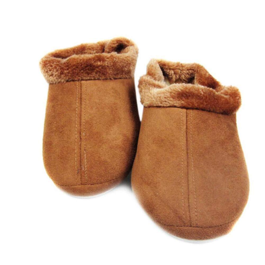 wendaby Chaussures chauffantes USB Amovibles et lavables Chaussures /électriques Pieds Bien au Chaud tr/ésor Chaussures chauffantes