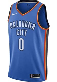 5772769c1 NIKE Russell Westbrook Oklahoma City Thunder Icon Edition Swingman NBA  Jersey Size 3XL