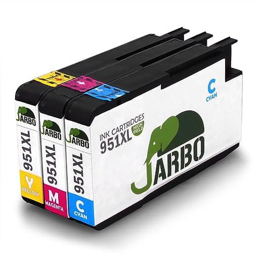 82 opinioni per JARBO Compatibile HP 951XL Cartucce d'inchiostro ad alto rendimento con i chip