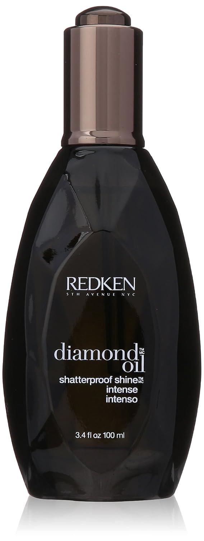 Diamond Oil Shatterproof Shine Intense For Coarse Hair by Redken for Unisex - 3.4 oz Oil treatment 0884486103482 RDK00010_-100ml