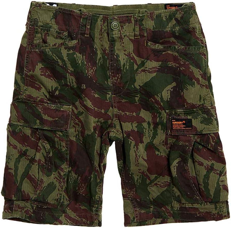 TALLA 42. Superdry Core Cargo Short Pantalones Cortos para Hombre