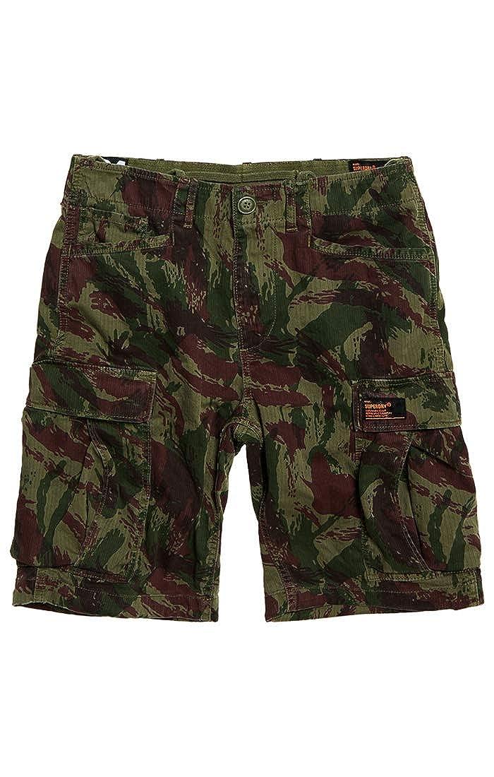 TALLA 42 (Talla del fabricante: 33). Superdry Core Cargo Short Pantalones Cortos para Hombre