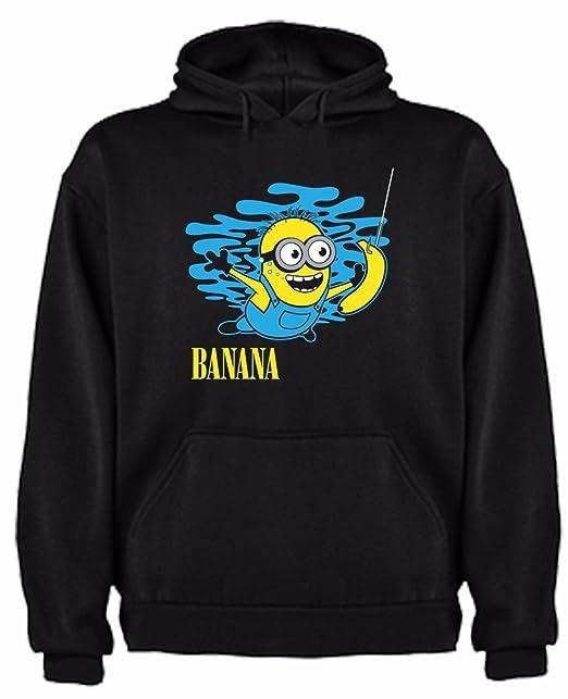 The Fan Tee Sudadera de Hombre Minions Nirvana GRU Nevermind: Amazon.es: Ropa y accesorios
