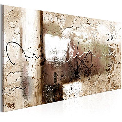 murando Cuadro en Lienzo Abstracto 150x50 cm 1 Parte Impresion en Material Tejido no Tejido Impresion Artistica Imagen Grafica Decoracion de Pared a-A-0331-b-d