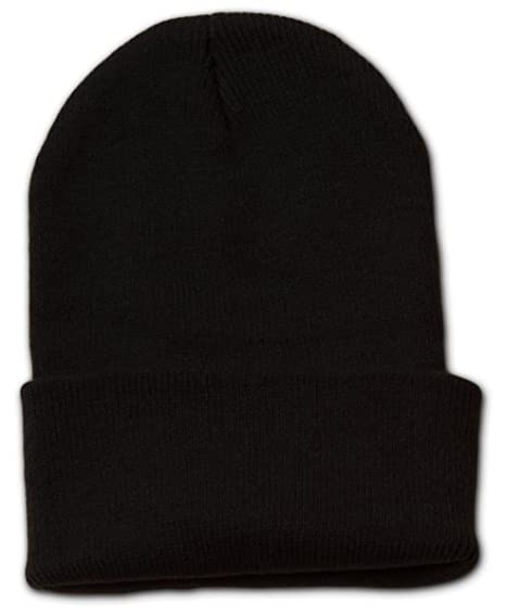 cf187c4f5aaefe Amazon.com: Jh Sports Long Cuff Beanie Cap One Size Black: Clothing
