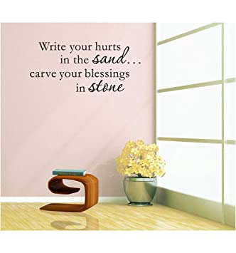 Homemay PVC Wall Stickers Good inglese frase di scrivere in ...