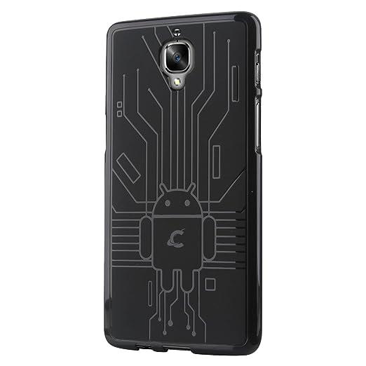 24 opinioni per Cruzerlite OnePlus 3 / 3t Case, Bugdroid Circuit TPU Cassa del Telefono per