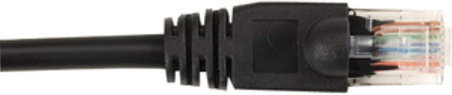 CAT6 Molded Boot Patch CA Black 5FT 25 P