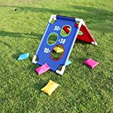 Children Sports Sandbags Kids Cornhole Boards Throwing Game (6 x CornHole Bags)