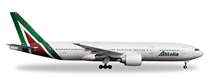 Buy Herpa Wings 530118 Alitalia Boeing 777-200 New Colors 'I-DISU ...