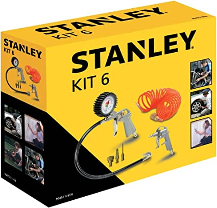 Set ad aria compressa Kit 6 Pneumatic Stanley