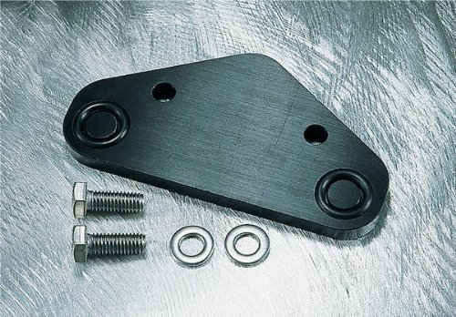 Oil Pump Block Off Plate - WSM Machined Crankcase Block-Off Plate 011-210
